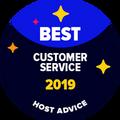 Best Customer Support badge ได้ถูกมอบให้กับบริษัทที่ฝ่ายบรรณาธิการของเราได้ทำการทดสอบการช่วยเหลือผ่านทางอีเมล์และโทรศัพท์ และพบว่าพวกเขาทำได้อย่างยอดเยี่ยม